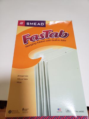 Fast tab hanging folders for Sale in Beaverton, OR
