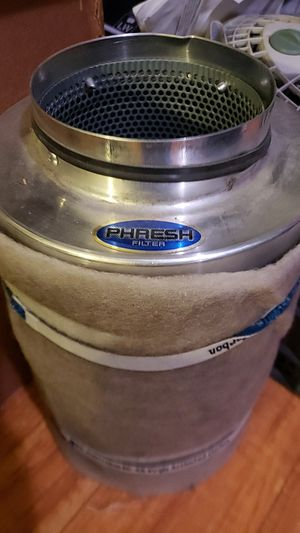 "Phresh Air Filter 701005 6"" x 16"" Used for two grows. for Sale in Los Angeles, CA"