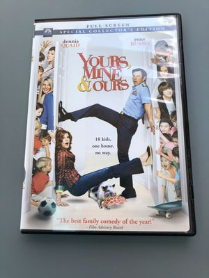 Yours, Mine & Ours on DVD for Sale in Houston, TX