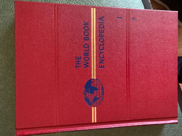 1961 World Book Encyclopedias
