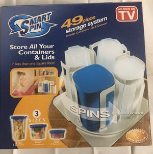 SMART SPIN FOOD STORAGE SYSTEM for Sale in Kissimmee, FL