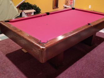 Brand new pool table with balls and cue for Sale in Parkville,  MD