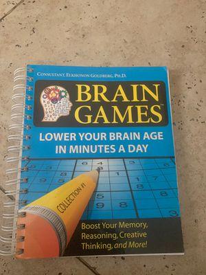 Brain Game s book. for Sale in Corona, CA