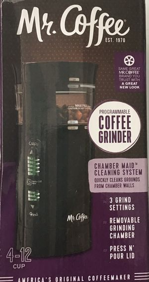 Mr Coffee grinder for Sale in Port St. Lucie, FL