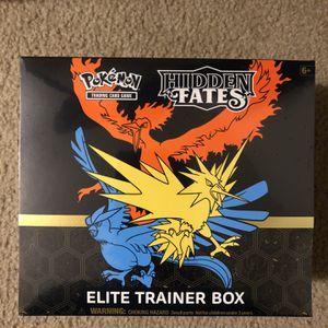 Pokémon Hidden Fate Elite Trainer Box for Sale in Lakewood, WA