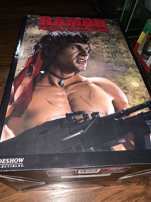 Sideshow collectibles Rambo statue premium format for Sale in Lake View Terrace, CA