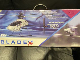 RC Helicopter, Blade CP Pro, lors of Extra Parts for Sale in Mount Clare,  WV