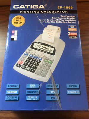 Catiga CP-1800 Printing Calculator for Sale in Salisbury, MD