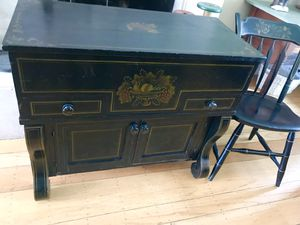 Rare Antique Hitchcock dry/wet bar/cabinet for Sale in San Carlos, CA