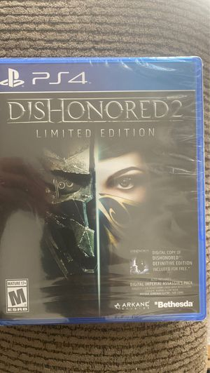 Dishonored 2 for Sale in Citrus Heights, CA