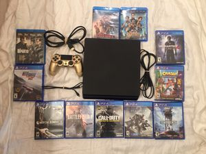 PS4, 8 Games, 3 Movies, Price Firm for Sale in Battle Ground, WA