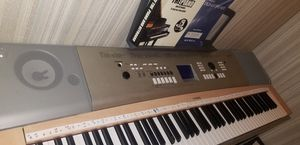 Yamaha YPG-635 Electric Piano with Weighted Keys and Pedals for Sale in Normal, IL