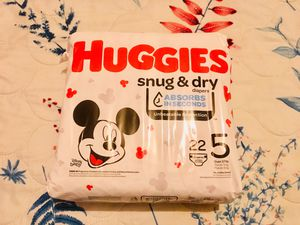 Huggies diapers for Sale in Jersey City, NJ