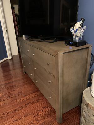 Dresser (grey) for Sale in Alexandria, VA