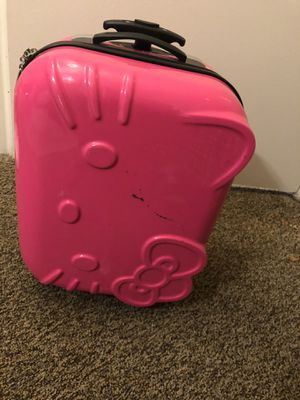 Hello kitty luggage for Sale in Austin, TX