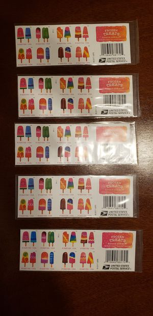10 sets of 5 books 20 stamps per book popsicles for Sale in Fresno, CA