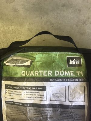 New Quarter dome T1 tent. Camping gear. Sleep shelter for Sale in Anaheim, CA
