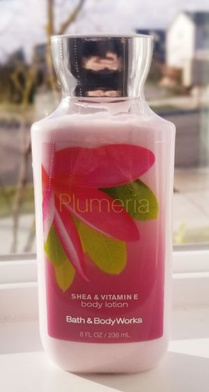 Brand New with tags Bath and Body Works Signature Plumeria Body Lotion 8 Ounce for Sale in Marysville, WA