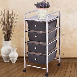 4 Drawers Metal Rolling Storage Cart for Sale in Rowland Heights, CA