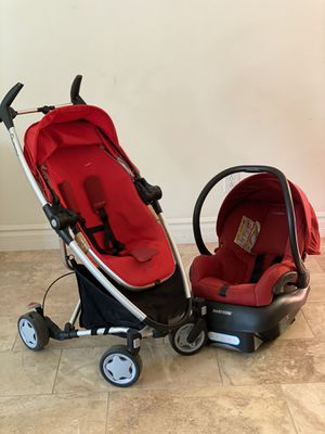 Quinny Zapp Xtra Stroller with Mico Max 30 Infant Car seat for Sale in Chandler, AZ