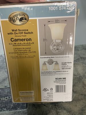 Wall lamp for Sale in Pinellas Park, FL
