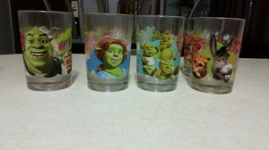 Shrek the Third glass cup collection for Sale in Chicago, IL