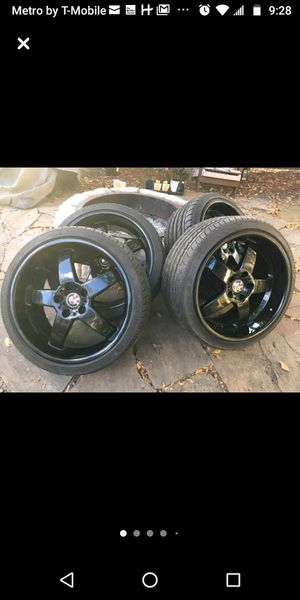 "BMW 19"" HAMANN RIMS AND TIRES M3 M4 M5 M6 5X120. NEGOTIABLE for Sale in Orlando, FL"
