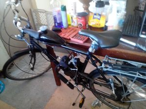 Motorized bike with brand new engine on it for Sale in Providence, RI