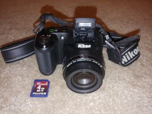 Nikon Coolpix L320 16.1MP Digital Camera with 26x Optical Zoom - BLACK for Sale in Kirkland, WA