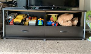TV stand with cabinet and 2 drawers for Sale in Bellevue, WA