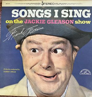 "Jackie Gleason Show ""Songs I Sing"" Vinyl Album $10 for Sale in Ringgold, GA"
