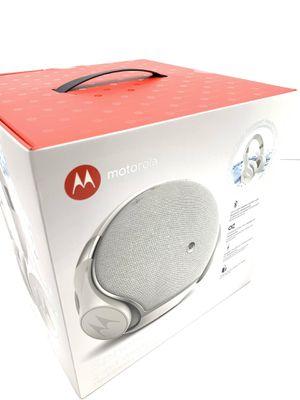 Motorola Sphere + Wireless speaker and headphones for Sale in West Palm Beach, FL