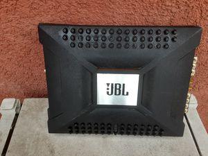 AMPLIFICADOR AMPLIFIER JBL 2 CHANELS GOOD CONDICIÓN ABLO ESPAÑOL for Sale in Stockton, CA