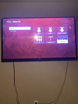 Tcl 65 inch Roku tv for Sale in Cartersville, GA