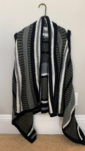 Women's long sweater vest cardigan sz medium for Sale in Huntington Beach, CA