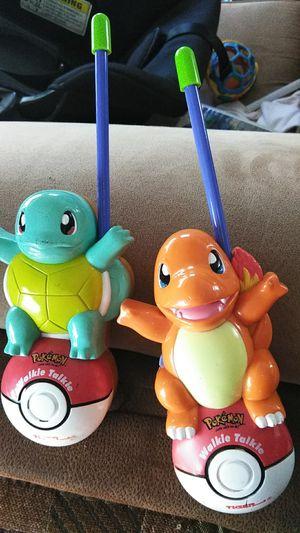Rare Pokemon Charizard Squirtle walkie talkies for Sale in SeaTac, WA