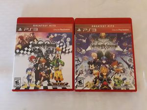 Kingdom hearts I.5 + II.5 for PS3 for Sale in Rochester, NY
