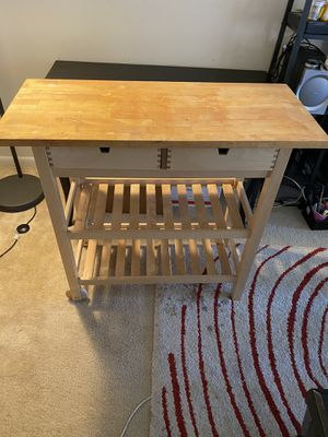 Ikea kitchen cart FORHOJA for Sale in Fort Washington, MD