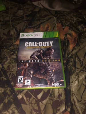 Call of Duty Advanced Warfare Day Zero Edition for Sale in Tuolumne, CA
