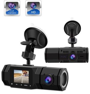 Dual Dash Cam,1080P Front and 720P inside for Sale in Porter Ranch, CA