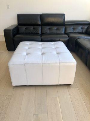 White Ottoman for Sale in San Jose, CA