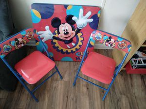 Kids Mickey Table & Chairs for Sale in Auburndale, FL
