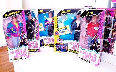 Rare New Kids On The Block Lot x 5 NKOTB for Sale in Fontana, CA