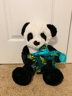 Panda with sequins stuffed animal for Sale in Woodbridge, VA