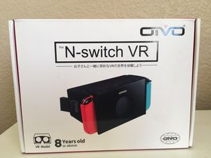 Brand New VR Headset for Nintendo Switch for Sale in Citrus Heights, CA