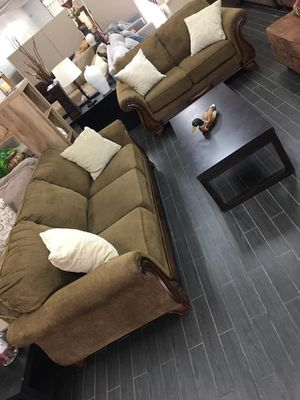 Sofa and loveseat ( from Ashley furniture ) for Sale in Santa Ana, CA
