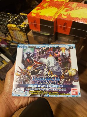 Digimon card game tcg booster box (pokemon tcg, yugioh) charizard for Sale in Garden Grove, CA