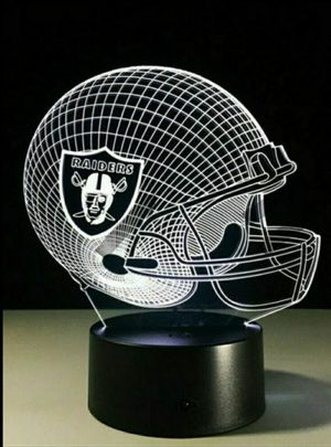Las Vegas Raiders NFL Night Light Lamp for Sale in Evesham Township, NJ