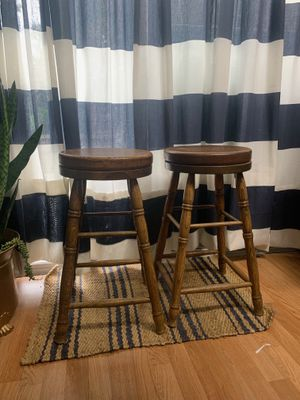 solid wood barstools for Sale in Fontana, CA