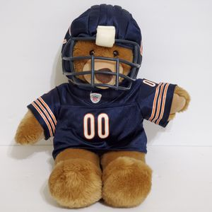 "Build a Bear Chicago Bears NFL BAB Brown Teddy Bear Plush Stuffed Animal 17"" for Sale in Brookfield, IL"
